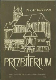 Prezbiterium. 1992 nr 3