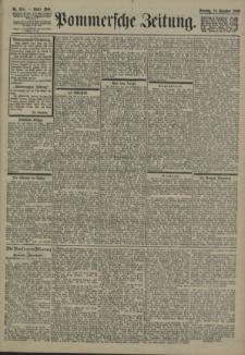 Pommersche Zeitung : organ für Politik und Provinzial-Interessen. 1900 Nr. 299