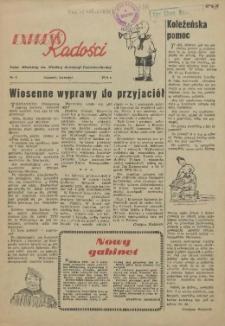 Express Radości : Pałac Młodzieży im. Wielkiej Rewolucji Październikowej. 1954 Kwiecień nr 6