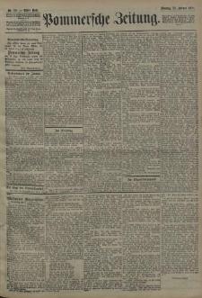 Pommersche Zeitung : organ für Politik und Provinzial-Interessen. 1908 Nr. 113