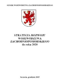 Strategia Rozwoju Województwa Zachodniopomorskiego do roku 2020