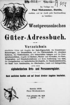 Adress- und Geschäfts-Handbuch für Stettin : nach amtlichen Quellen zusammengestellt. 1903