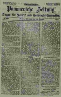 Pommersche Zeitung : organ für Politik und Provinzial-Interessen. 1853 Nr. 189