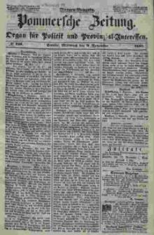 Pommersche Zeitung : organ für Politik und Provinzial-Interessen. 1853 Nr. 225