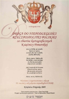 Droga do Niepodległości Rzeczpospolitej Polskiej
