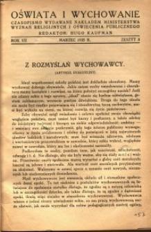 Oświata i Wychowanie. R.7, 1935 nr 3