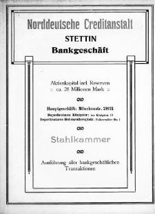 Adressbuch für Stettin und Umgebung : unter Benutzung amtlicher Quellen. 1917