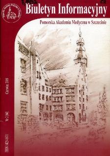 Biuletyn Informacyjny : Pomorska Akademia Medyczna w Szczecinie. Nr 2 (64), Czerwiec 2009