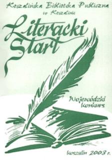 Wojewódzki Konkurs Literacki Start 2003
