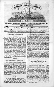 Börsen-Nachrichten der Ost-See : allgemeines Journal für Schiffahrt, Handel und Industrie jeder Art. 1836 Nr. 54