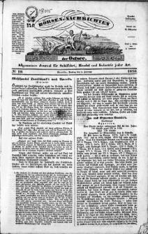 Börsen-Nachrichten der Ost-See : allgemeines Journal für Schiffahrt, Handel und Industrie jeder Art. 1838 Nr. 10