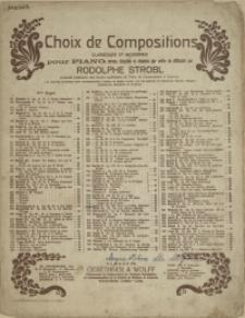 Sous sa fenêtre : sérénade : op. 339