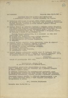 Komunikat Krajowej Komisji Porozumiewawczej z posiedzenia odbytego w Stoczni Gdańskiej im. Lenina