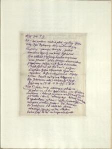 Listy Stanisława Ignacego Witkiewicza do żony Jadwigi z Unrugów Witkiewiczowej. List z 30.07.1926