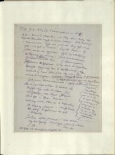 Listy Stanisława Ignacego Witkiewicza do żony Jadwigi z Unrugów Witkiewiczowej. List z 25.07.1927