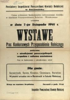 [Afisz. Inc.:] Powiatowy Inspektorat Powszechnej Oświaty Rolniczej w Szczecinku [...]