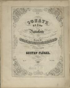 Sonate : Nr. 3 : B-dur : für das Pianoforte : Op. 13
