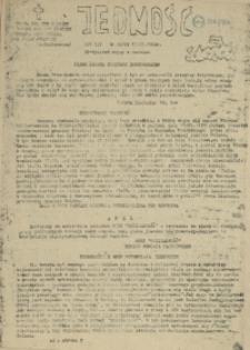 Jedność : Organ Międzyzakładowego Komitetu Strajkowego przy Stoczni im. Adolfa Warskiego. 1982 nr 29/89