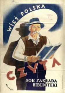 [Plakat] Wieś Polska Czyta