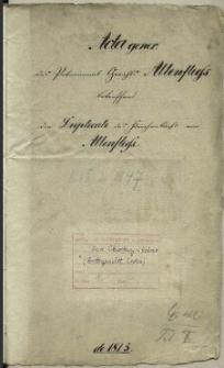 Die Duplicate des Kirchenbuchs von Altenfliess