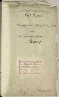 Die Kirchenbuchs Duplicate von Bonin