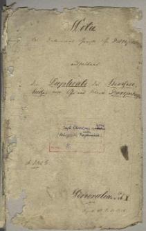 Die Duplicate des Kirchenbuchs von Gross und Klein Borkenhagen
