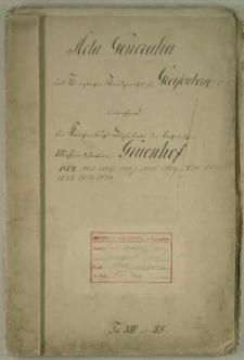 Die Kirchenbuchs Duplicate der Katholischen Missionsstation Grünhof
