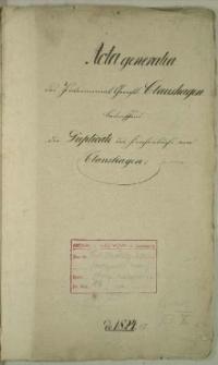 Die Duplicate des Kirchenbuchs von Claushagen, Gerdshagen
