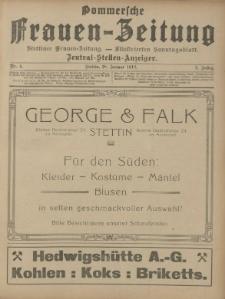 Pommersche Frauen-Zeitung: Stettiner Frauenzeitung : illustriertes Sonntagsblatt. 1912 Nr.5