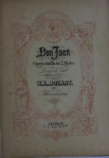 Don Juan: Opera buffa in 2 Akten