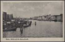 Stettin, Blick auf die Baumbrücke