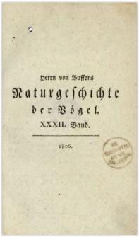 Naturgeschichte der Vögel. Bd. 32