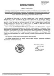 Uchwała Rady Miejskiej w Koszalinie nr XLVIII/684/2014