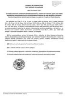 Uchwała Rady Miejskiej w Koszalinie nr XLVIII/691/2014