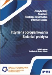 Inżynieria oprogramowania. Badania i praktyka