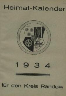 Heimat = Kalender für den Kreis Randow. 1934