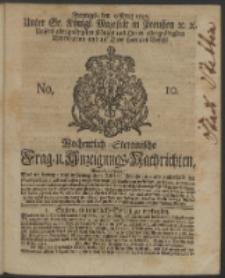 Wochentlich-Stettinische Frag- und Anzeigungs-Nachrichten. 1742 No. 10