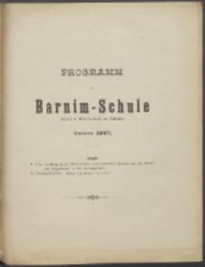 Programm der Barnim-Schule Knaben-Mittelschule zu Stettin. 1897