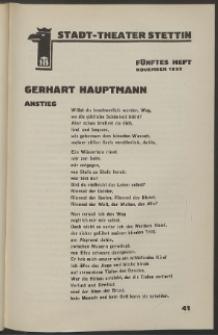 Stadt-Theater Stettin. 1932 H. 5