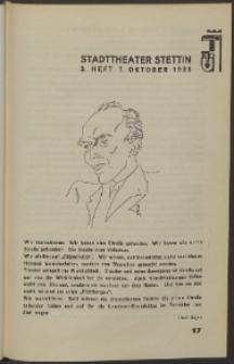 Stadt-Theater Stettin. 1933 H. 3