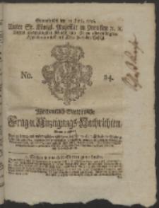 Wochentlich-Stettinische Frag- und Anzeigungs-Nachrichten. 1756 No. 24 + Anhang