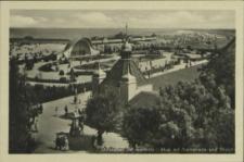 Ostseebad Swinemünde, Blick auf Promenade und Strand
