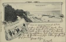 Gruss vom Ostseestrand Rewahl, Rewahl am Strande