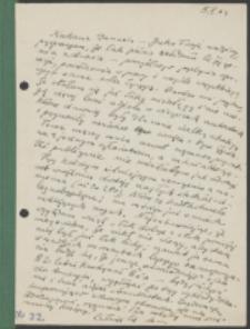 List Marii Dąbrowskiej do Danuty Hepke-Kelch. List z 5.05.1963.