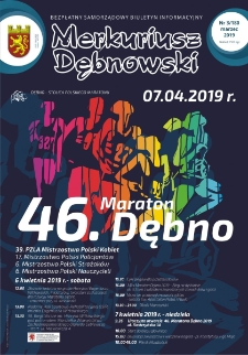 Merkuriusz Dębnowski. 2019. 03/180 marzec