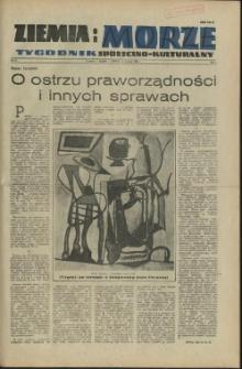 Ziemia i Morze : tygodnik społeczno-kulturalny.R.1, 1956 nr 5
