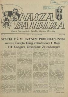Nasza Bandera : pismo Pracowników Polskiej Żeglugi Morskiej. R.2, 1954 nr 7 (12)
