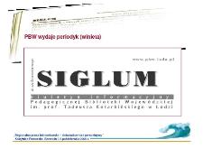Biuletyn informacyjny PBW w Łodzi