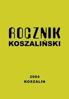 Rocznik Koszaliński. 2004, nr 32