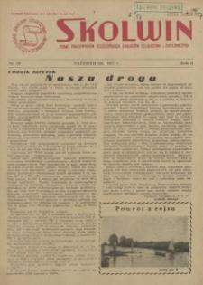 Skolwin : pismo pracowników Szczecińskich Zakładów Celulozowo-Papierniczych. R.3, 1957 nr 30